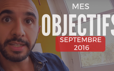 Rapport d'objectif – Septembre 2016