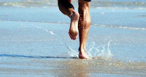 courir-plage