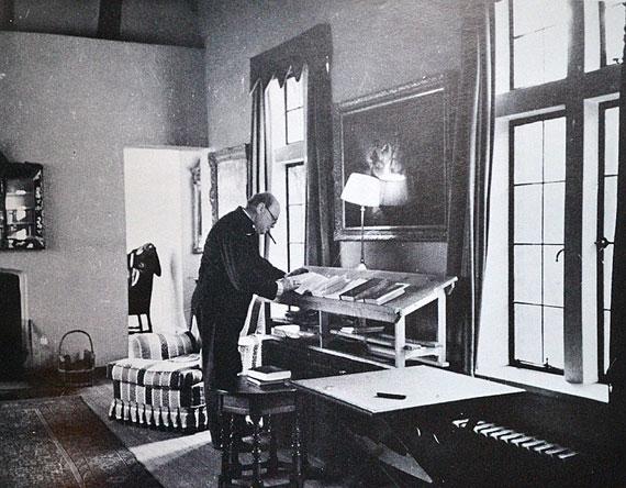 Bureau debout de Winston Churchill