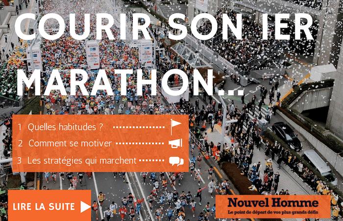 De 2km/jour à finir le Marathon de Tokyo… Le pouvoir des habitudes